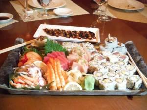 Nobu Sushi Platter