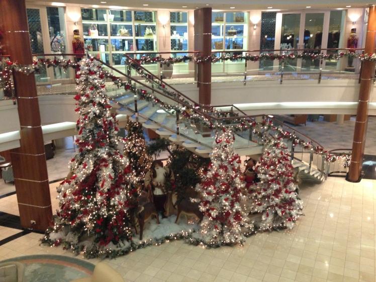Christmas Decs - Atrium