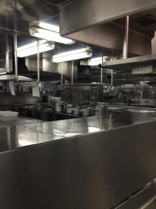 Galley Tour - Entree Kitchen