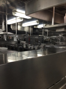 Galley Tour - Entree Kitchen