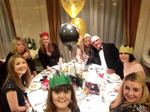 TCP team at CLIA Xmas Dinner