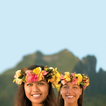 Enjoy the company of The Gauguines, your hostesses aboard The Gauguin.